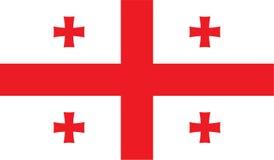 Georgia flag image Royalty Free Stock Photos