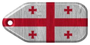 Georgia flag Royalty Free Stock Photography