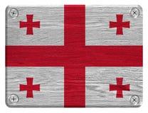 Georgia flag Stock Photo