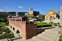 Georgia, fortezza Rabat in Akhaltsikhe Immagine Stock