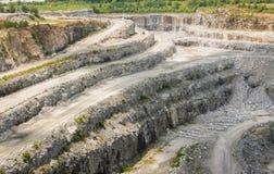 Georgia-Granitbergwerk Lizenzfreies Stockfoto
