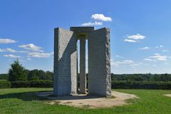 Georgia Guidestones Stock Photography