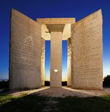 Georgia Guidestones Royalty Free Stock Photos