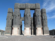georgia historisk monument tbilisi royaltyfria bilder