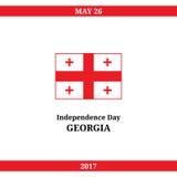 Georgia Independence Day Imagen de archivo
