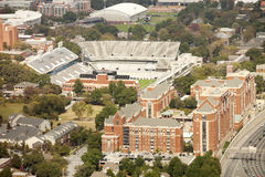 Georgia Institute da tecnologia e Bobby Dodd Stadium Fotografia de Stock