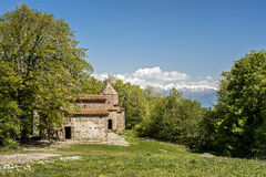 Georgia, Kakheti , Old Shuatma convent. Founded in the 4th century stock image