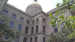 georgia kapitałowy stan Zdjęcie Royalty Free