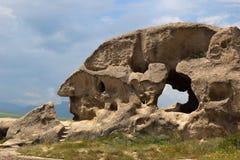 georgia mężczyzna profilu skały s kształt Zdjęcie Stock