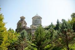 Georgia, Martvili monasterio del 1 de septiembre de 2018 es un complejo mon?stico georgiano Catedral de Martvili-Chkondidi fotos de archivo libres de regalías