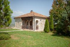 Georgia, Martvili monasterio del 1 de septiembre de 2018 es un complejo mon?stico georgiano Catedral de Martvili-Chkondidi imagen de archivo libre de regalías
