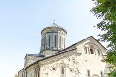 Georgia, Martvili 01 September 2018 Monastery is a Georgian monastic complex. Martvili-Chkondidi Cathedral.  stock photos