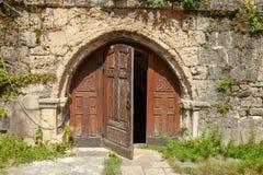 Georgia, Martvili 01 September 2018 Monastery is a Georgian monastic complex. Martvili-Chkondidi Cathedral.  stock images