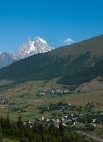 Georgia mountain landscape Royalty Free Stock Image