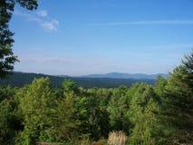 Georgia Mountain View Royalty Free Stock Images