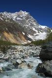 Georgia mountains and river Royalty Free Stock Photos