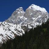 Georgia mountains in summer time Royalty Free Stock Photo