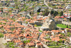 Georgia, Mtskheta, village Royalty Free Stock Photos