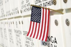 Georgia National Cemetery Royalty Free Stock Photography
