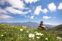 Georgia Nature Mountain-Landschaften Lizenzfreies Stockbild