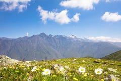 Georgia Nature Mountain-Landschaften Stockfotos