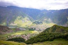 Georgia Nature Mountain-Landschaften Lizenzfreie Stockbilder