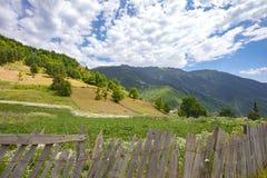 Georgia Nature Mountain-Landschaften Lizenzfreies Stockfoto
