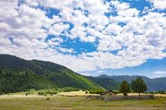 Georgia Nature Mountain-Landschaften Stockbilder