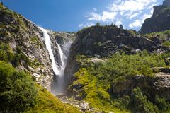 Georgia Nature Mountain-landschappen Stock Foto