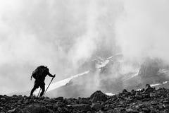 Georgia Nature Mountain landskap fotografering för bildbyråer
