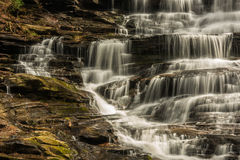 Georgia and North Carolina Waterfalls Royalty Free Stock Photography