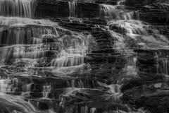 Georgia and North Carolina Waterfalls Royalty Free Stock Photo