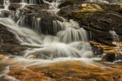 Georgia and North Carolina Waterfalls Royalty Free Stock Image