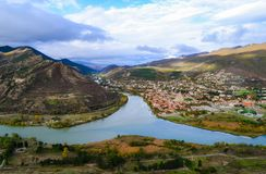 Georgia, Transcaucasia. Georgia-November 2017 Transcaucasia traveling wandering journey Royalty Free Stock Photography