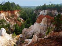 Georgia opatrzności canyon Zdjęcia Stock