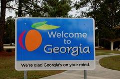 georgia powitać Obraz Royalty Free