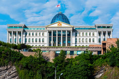 Georgia Presidential Palace Stock Image