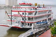 Georgia Queen Riverboat in der Savanne stockfoto
