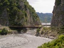 georgia ravin Arkivbild