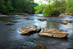 Georgia river Royalty Free Stock Photos