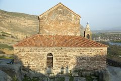 Georgia-` s alte Stadt-Basilika Stockbild