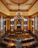 Georgia Senate Chamber Royaltyfria Foton