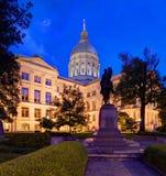 Georgia State capitol Arkivfoton