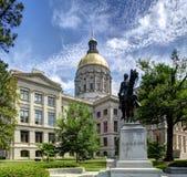 Georgia State-capitol royalty-vrije stock foto's