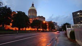 Georgia State Capitol stock video