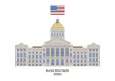 Georgia State Capitol, Atlanta Royalty Free Stock Image