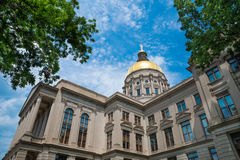 Georgia state capitol building Stock Photography