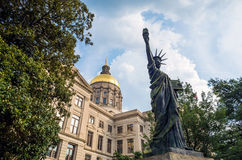Georgia State Capitol Building in Atlanta, Georgia Stock Photo