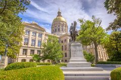 Georgia State Capitol Royalty Free Stock Images
