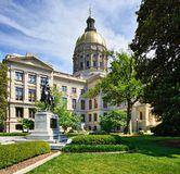 Georgia State capitol Stock Images